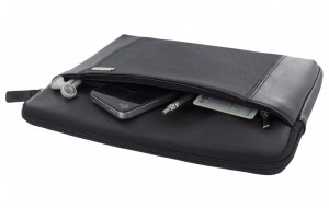 Leather Pouch for iPad (1st gen.), iPad 2 & iPad (3rd gen.), black – Bild 3