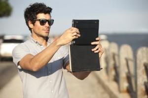 Twelve South BookBook Vol. 2 Leder Schutzhülle Case Tasche Buchhülle iPad 2 3 4 – Bild 5