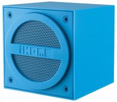 iHome iBT16 Bluetooth Mini-Speaker, wiederaufladbar, gummiert, blau