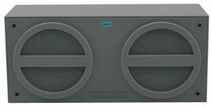 iHome iBT24 Bluetooth Mini-Speaker, wiederaufladbar, gummiert, grau – Bild 2
