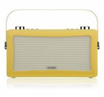 View Quest Hepburn DAB+ Radio mit Bluetooth-Funktion und 3,5mm Aux-In, senfgelb – Bild 1