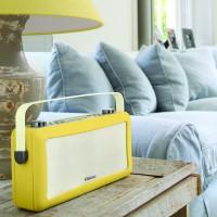 View Quest Hepburn DAB+ Radio mit Bluetooth-Funktion und 3,5mm Aux-In, senfgelb – Bild 9