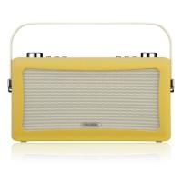 View Quest Hepburn DAB+ Radio mit Bluetooth-Funktion und 3,5mm Aux-In, senfgelb – Bild 2