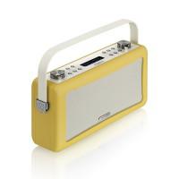 View Quest Hepburn DAB+ Radio mit Bluetooth-Funktion und 3,5mm Aux-In, senfgelb – Bild 4
