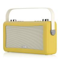 View Quest Hepburn DAB+ Radio mit Bluetooth-Funktion und 3,5mm Aux-In, senfgelb – Bild 6