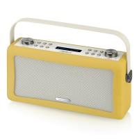 View Quest Hepburn DAB+ Radio mit Bluetooth-Funktion und 3,5mm Aux-In, senfgelb – Bild 5