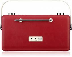 View Quest Hepburn DAB+ Radio mit Bluetooth-Funktion und 3,5mm Aux-In, rot – Bild 6