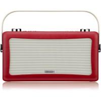 View Quest Hepburn DAB+ Radio mit Bluetooth-Funktion und 3,5mm Aux-In, rot – Bild 2