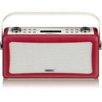 View Quest Hepburn DAB+ Radio mit Bluetooth-Funktion und 3,5mm Aux-In, rot – Bild 9