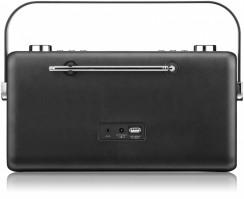 View Quest Hepburn DAB+ Radio mit Bluetooth-Funktion und 3,5mm Aux-In, schwarz – Bild 4