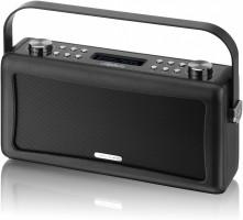 View Quest Hepburn DAB+ Radio mit Bluetooth-Funktion und 3,5mm Aux-In, schwarz – Bild 1