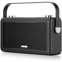 View Quest Hepburn DAB+ Radio mit Bluetooth-Funktion und 3,5mm Aux-In, schwarz – Bild 5