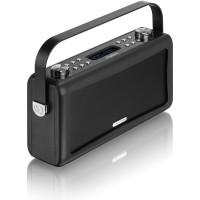 View Quest Hepburn DAB+ Radio mit Bluetooth-Funktion und 3,5mm Aux-In, schwarz – Bild 6