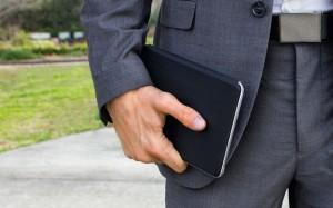 Twelve South SurfacePad Schutzhülle Tasche Cover Case Etui für iPad Air, black – Bild 8
