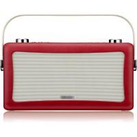 View Quest Hepburn DAB+ Radio Bluetooth 3,5mm Aux-In retro Smartphone iphone rot – Bild 2