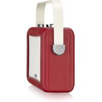 View Quest Hepburn DAB+ Radio Bluetooth 3,5mm Aux-In retro Smartphone iphone rot – Bild 7