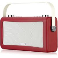 View Quest Hepburn DAB+ Radio Bluetooth 3,5mm Aux-In retro Smartphone iphone rot – Bild 10