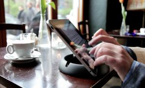 halopad Ständer Halter Stand iPad Tablets Samsung Microsoft Acer Kindle schwarz – Bild 6