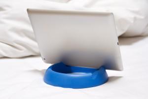 halopad Ständer Halter Stand iPad Tablets Samsung Microsoft Acer Kindle blau – Bild 3