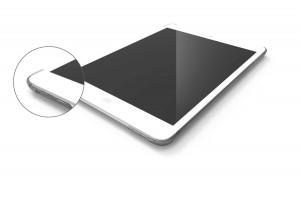 Kensington Corner Case Rückseit Schutz Hülle Cover Clip iPad Air slate grey – Bild 3