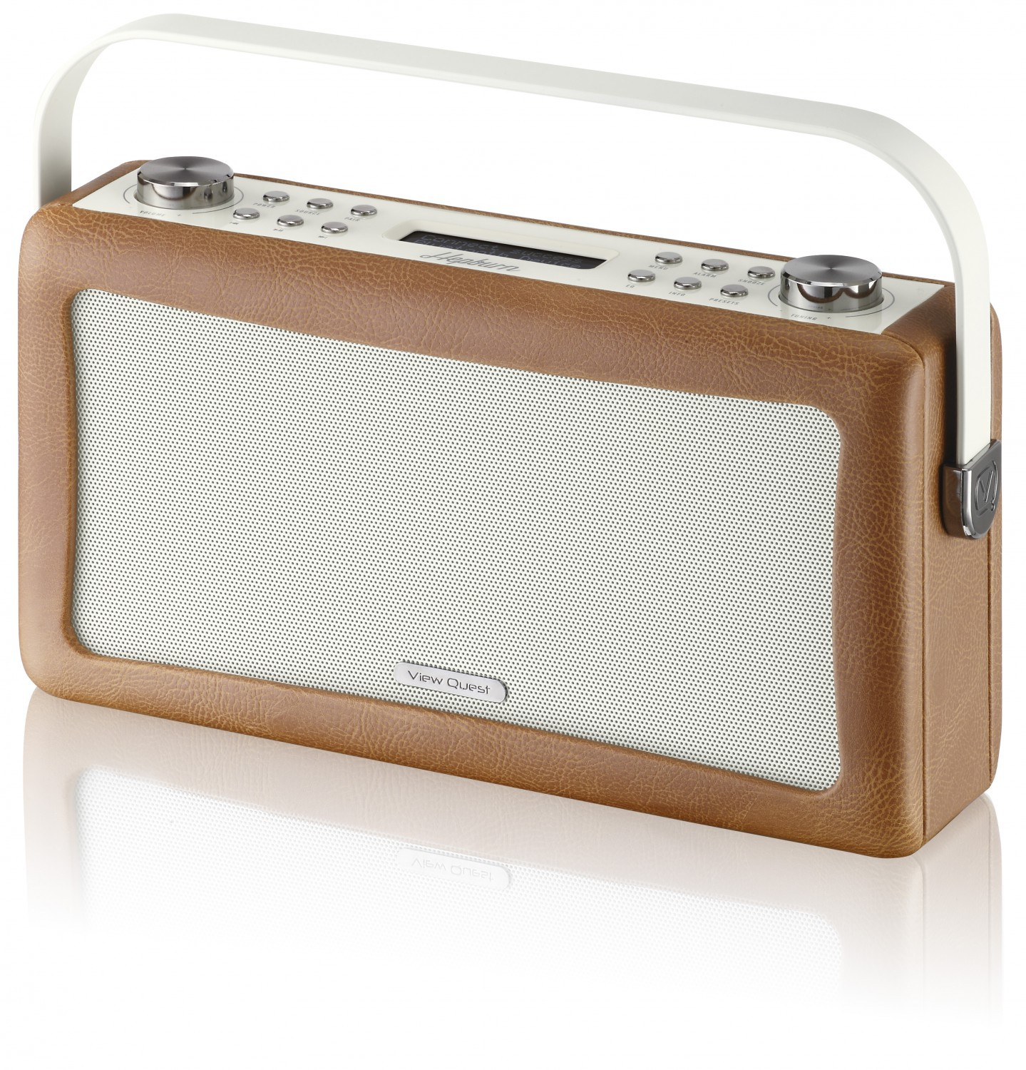 view quest hepburn dab fm digital radio wecker bluetooth retro iphone android b ebay. Black Bedroom Furniture Sets. Home Design Ideas