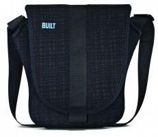 BUILT NY iPad 2, iPad 3, Neoprene Messenger Bag, Graphit Grid – Bild 1