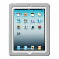 BlackBelt Silicon Protection Band for iPad 2 & 3, Grey
