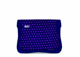 BUILT Envelope for iPad 1, iPad 2, iPad 3, Mini Dot Navy Magenta