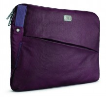 "BUILT City Collection Laptop Sleeve für 13 Zoll MacBook Pro, Air, und Notebooks, 13"", Aubergine – Bild 2"
