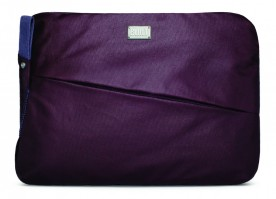 "BUILT City Collection Laptop Sleeve für 13 Zoll MacBook Pro, Air, und Notebooks, 13"", Aubergine – Bild 1"