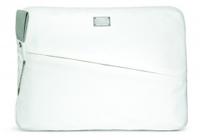 BUILT City Collection Laptop Sleeve für 13 Zoll MacBook Pro, Air, und Notebooks, white – Bild 1