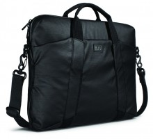 BUILT City Collection Slim Laptop Bag, Black – Bild 3