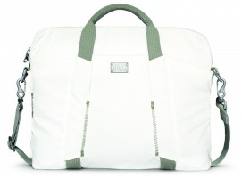 City Collection Slim Laptop Bag, White – Bild 1