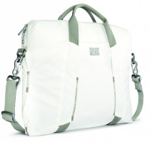 City Collection Slim Laptop Bag, White – Bild 3