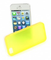 Tucano Colore for iPhone 5/5s und iPhone SE, Yellow – Bild 3
