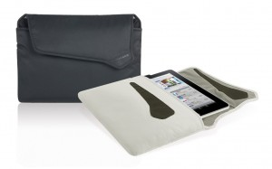 Tucano Softskin Sleeve for iPad (alle Modelle), grau – Bild 3