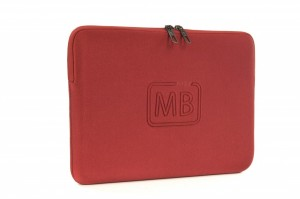 "Tucano Second Skin New Elements Neopren Sleeve Hülle Tasche MacBook Air 13"", Red"