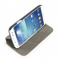 Macro booklet cover for Galaxy S4, Grey – Bild 2