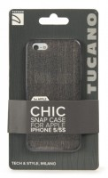 Chic Case for iPhone 5/5s, grey – Bild 1