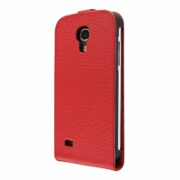 Artwizz SeeJacket Leather FLIP+ Schutzhülle für Samsung Galaxy S4 mini - elegantes Etui aus echtem Leder mit komfortablen Magnetverschluss - Business-Case designed in Berlin - rot 1424-SJLF+S4MR – Bild 4