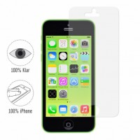 Artwizz ScratchStopper 2x transparente & kristall-klare Display-Schutzfolie für iPhone SE / 5S / 5 / 5c - mit widerstandsfähiger Hartbeschichtung - Screen-Protection designed in Berlin - 0724-SS-P5C