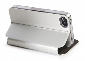 Eyes for iPhone 4 / 4S, Case & free App, Silver – Bild 5