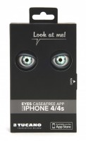 Eyes for iPhone 4 / 4S, Case & free App, Silver – Bild 7