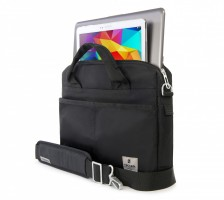 "Tucano Shine Laptoptasche Notebooktasche MacBook Air & Pro 13"" Ultrabooks , schwarz – Bild 2"