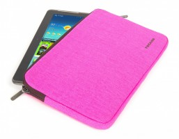 "Fluo Universal Cotton Sleve for iPad mini and Tablets 9"" - 10"", Fuchsia – Bild 3"