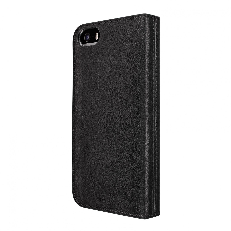 artwizz wallet leder etui mit kartenf chern f r iphone 5. Black Bedroom Furniture Sets. Home Design Ideas