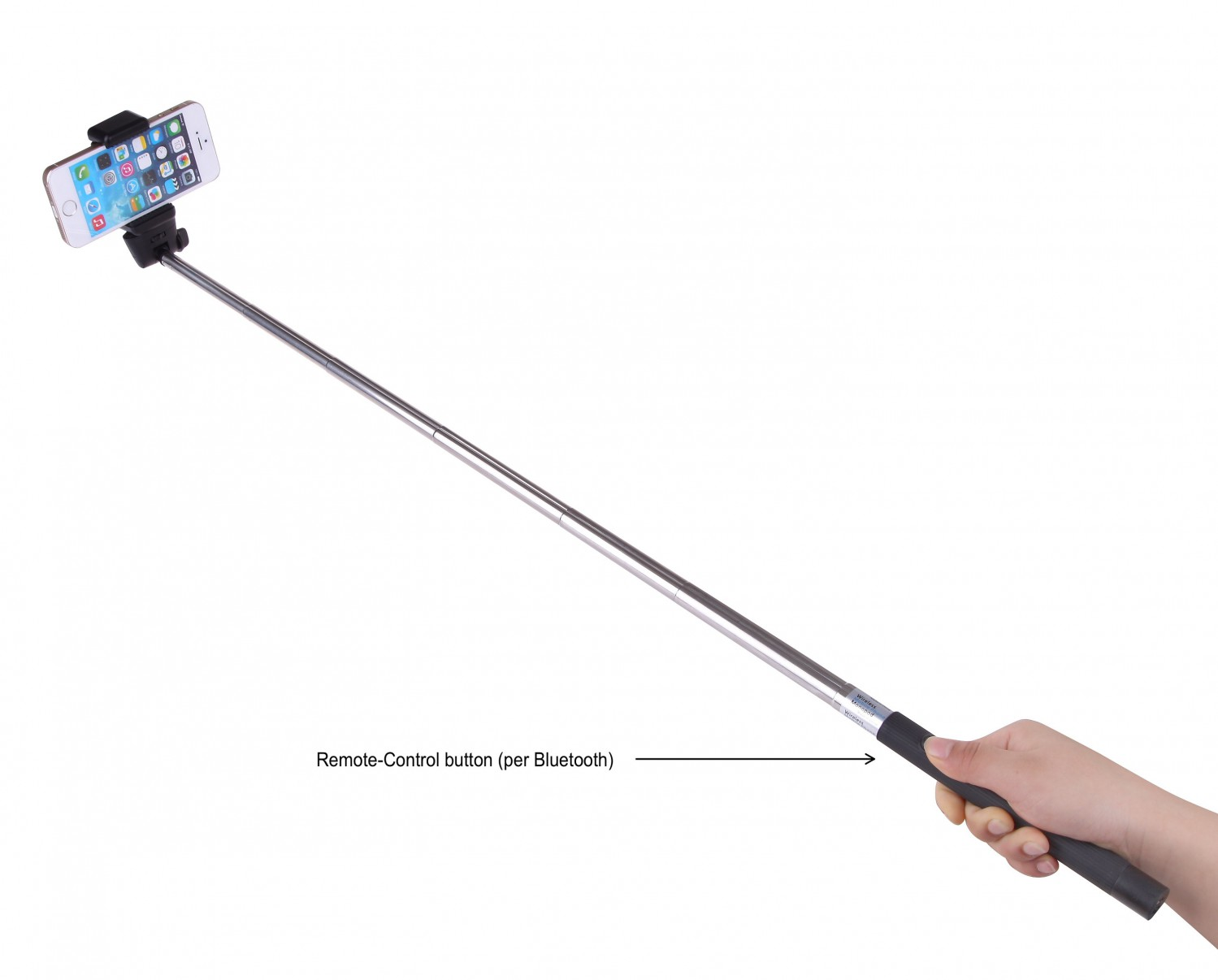 selfie stick monopod fernausl ser knopf bluetooth smartphone iphone samsung htc iphone docks. Black Bedroom Furniture Sets. Home Design Ideas