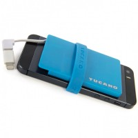 Ultraslim sport power bank, skyblue – Bild 1