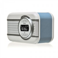 View Quest Christie Vintage DAB+ Radio Bluetooth Lautsprecher Soundsystem blau – Bild 4