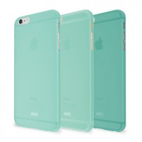 Artwizz Rubber Clip Schutz Case Hülle Soft Touch dünn iPhone 6 mint – Bild 1